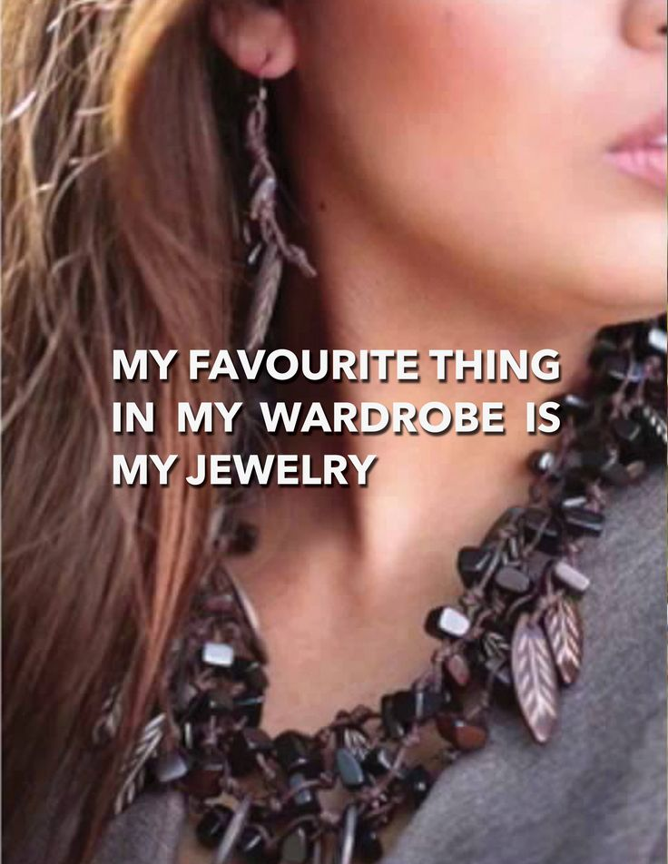 DIY: MY FAVOURITE THING IN MY WARDROBE IS MY JEWELRY