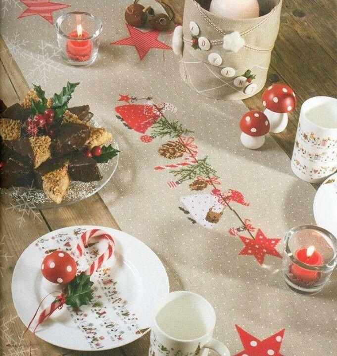 Κοκκινοσκουφίτσα τα Χριστούγεννα σε ράνερ.Το σχέδιο υπάρχει.*Χειροποίηση Χαλκίδας  Βελισσαρίου 13 τηλ:2221074152