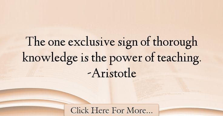 Aristotle Quote About Wisdom: 17 Best Aristotle Quotes On Pinterest