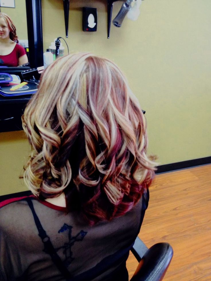 17 Best ideas about Red Violet Highlights on Pinterest ...