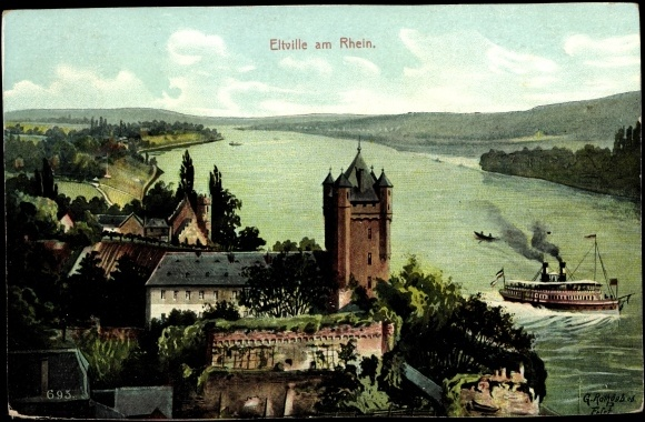 Eltville am Rhein... Beautiful little town of roses. We drove out there today it was lovely!