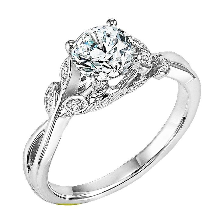 The Corrine diamond engagement ring by Artcarved is tailor made for the free-spirit girl with style, who knows who she is and is not afraid to sparkle.