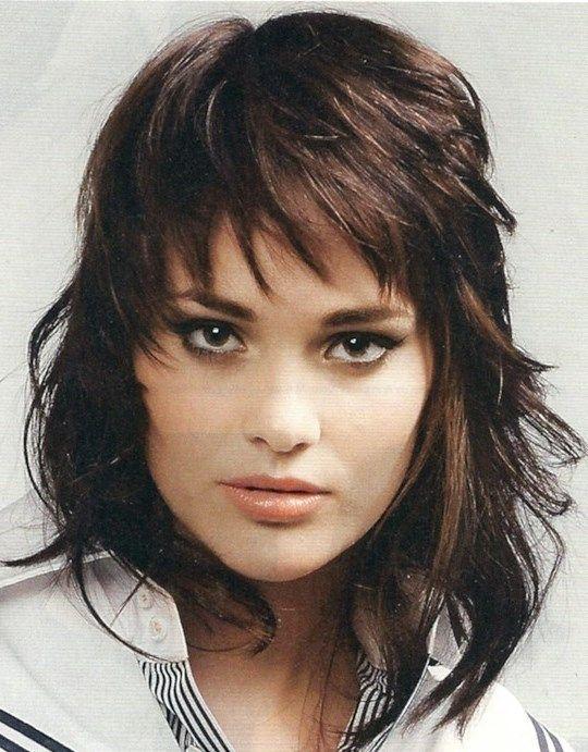 Corte de pelo media melena hairstyles peinados - Corte de melenas ...