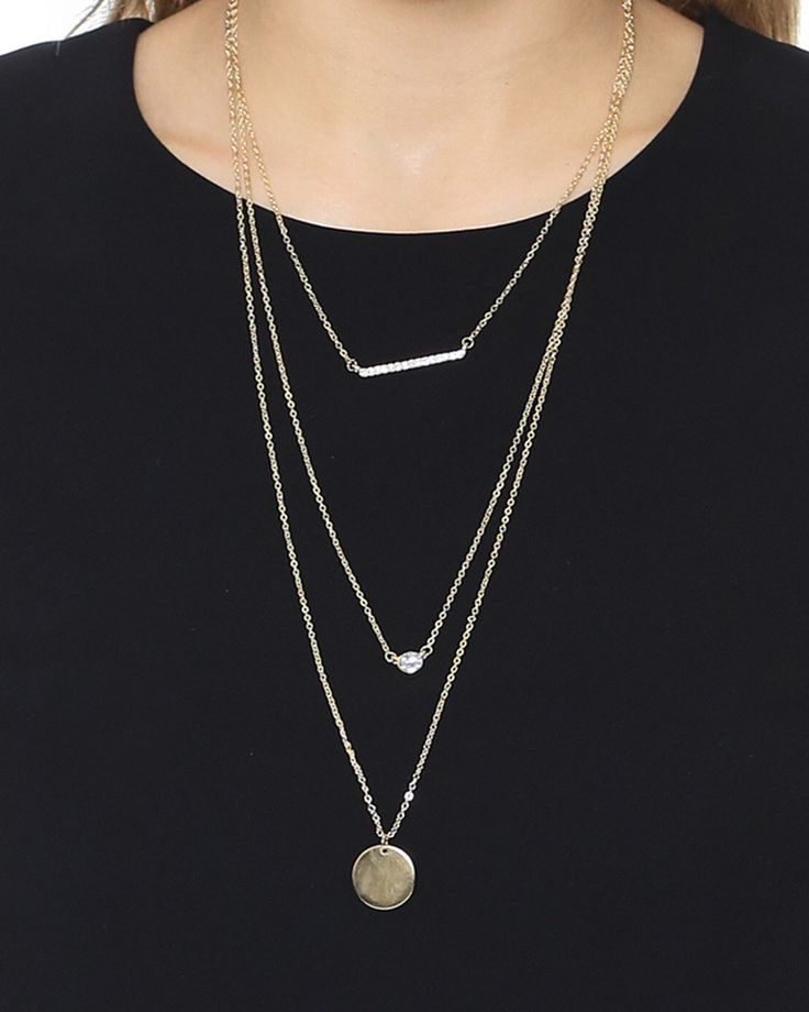 Jules Smith Mini Hoop Pendant Necklace Gold RpHNIBxCEH