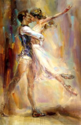 Love Story 2 - Anna Razumovskaya  (I would really love to own this painting!)