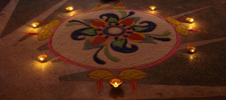 Get beautiful and easy rangoli designs for Diwali. Make these latest rangoli designs during Diwali competition. These rangoli designs are simply the best.