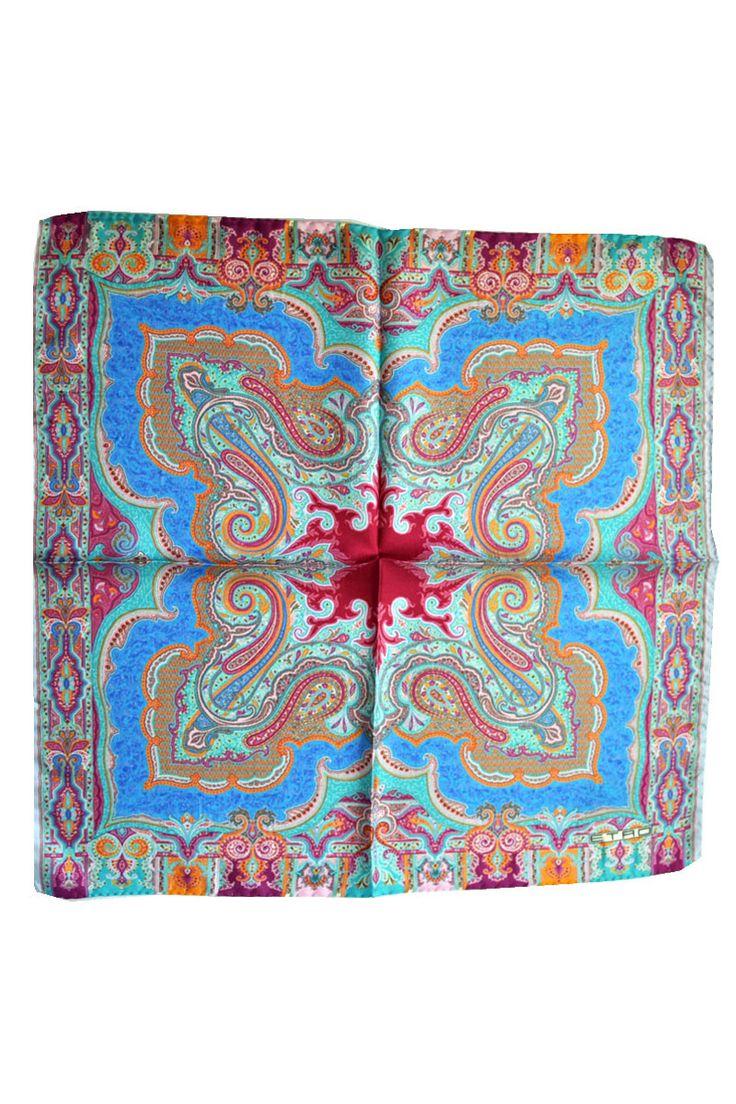 Mens Silk Pocket Square - Marbles silk square by VIDA VIDA eiVlcl