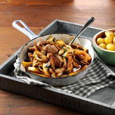 Recept week 3: Hamlappen met Oosterse zoete perziksaus