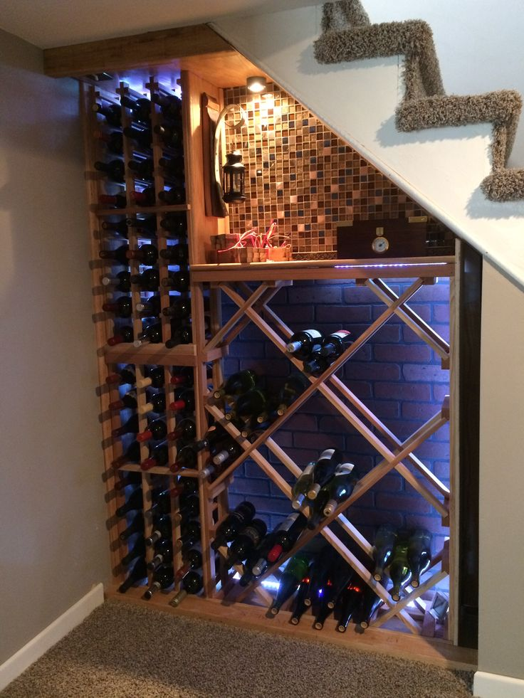 Wine Cellar Under The Stairs Vines To Wines Pinterest