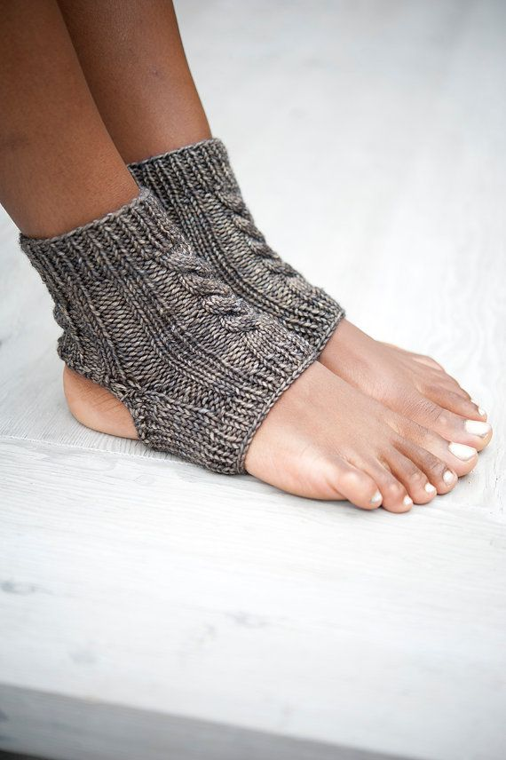 For yoga. For lounging. For you.  These simple socks have so many uses, from keeping your ankles warm in yoga class, to post-pedicure pamp... NEED