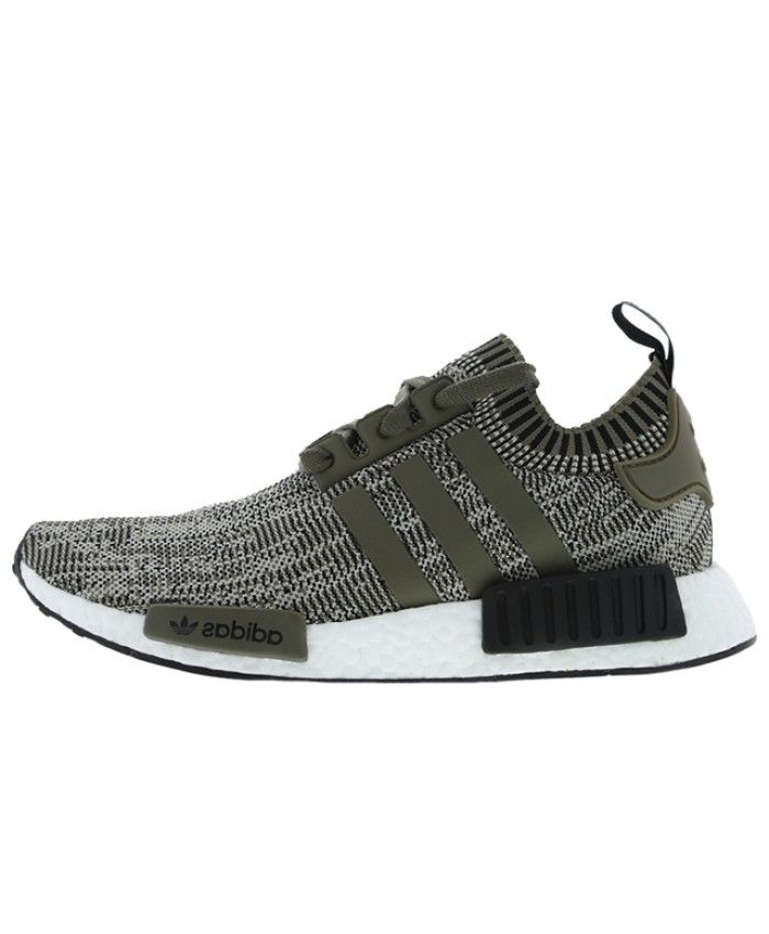 3244dc0573f Cheap Adidas NMD R1 Olive Black Footlocker Exclusive