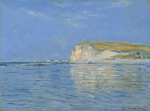 impressionsonmymind: Claude Monet, Low Tide at Pourville, near... (via Bloglovin.com )