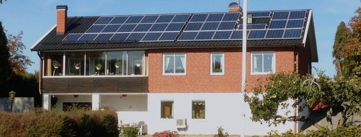 Villa i Stallarholmen – solceller 9,3 kW