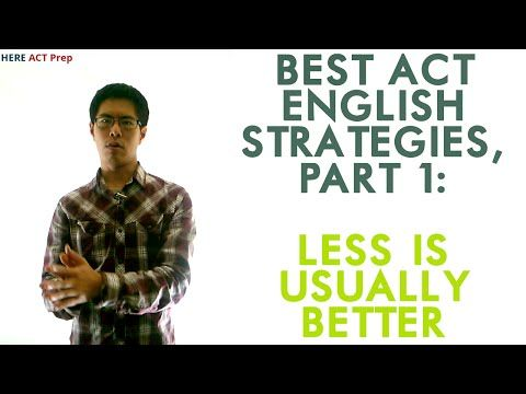 Best ACT English Prep Strategies, Tips, and Tricks - 4 Key Things to Know About the ACT English Test - YouTube