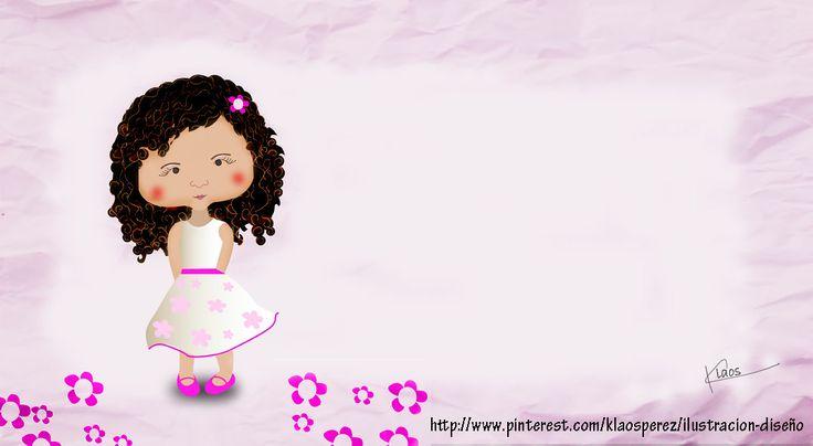 Mi hermosa sobrina Danna Ilustración digital