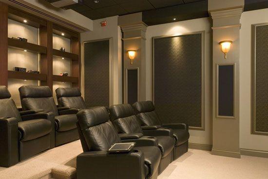 Home Theater Rooms | Chattanooga Home Theater Installation/Media Room  Installation | AV .