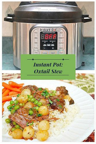 instant pot oxtail stew  oxtail stew instant pot oxtail