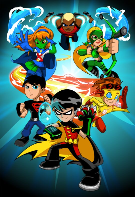 Young Justice by Ali Solomon