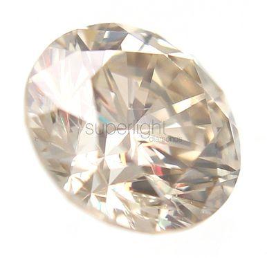 0.14 CARAT TOP LIGHT BROWN COLOR VS1 ROUND BRILLIANT BUY LOOSE DIAMOND 3.36M