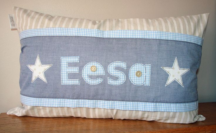 Personalized Name Scatter - for baby Eesa - ideal to brighten any child's room! Great gift idea. Order from Tula-tu Baby Linen - www.tulatu.co.za