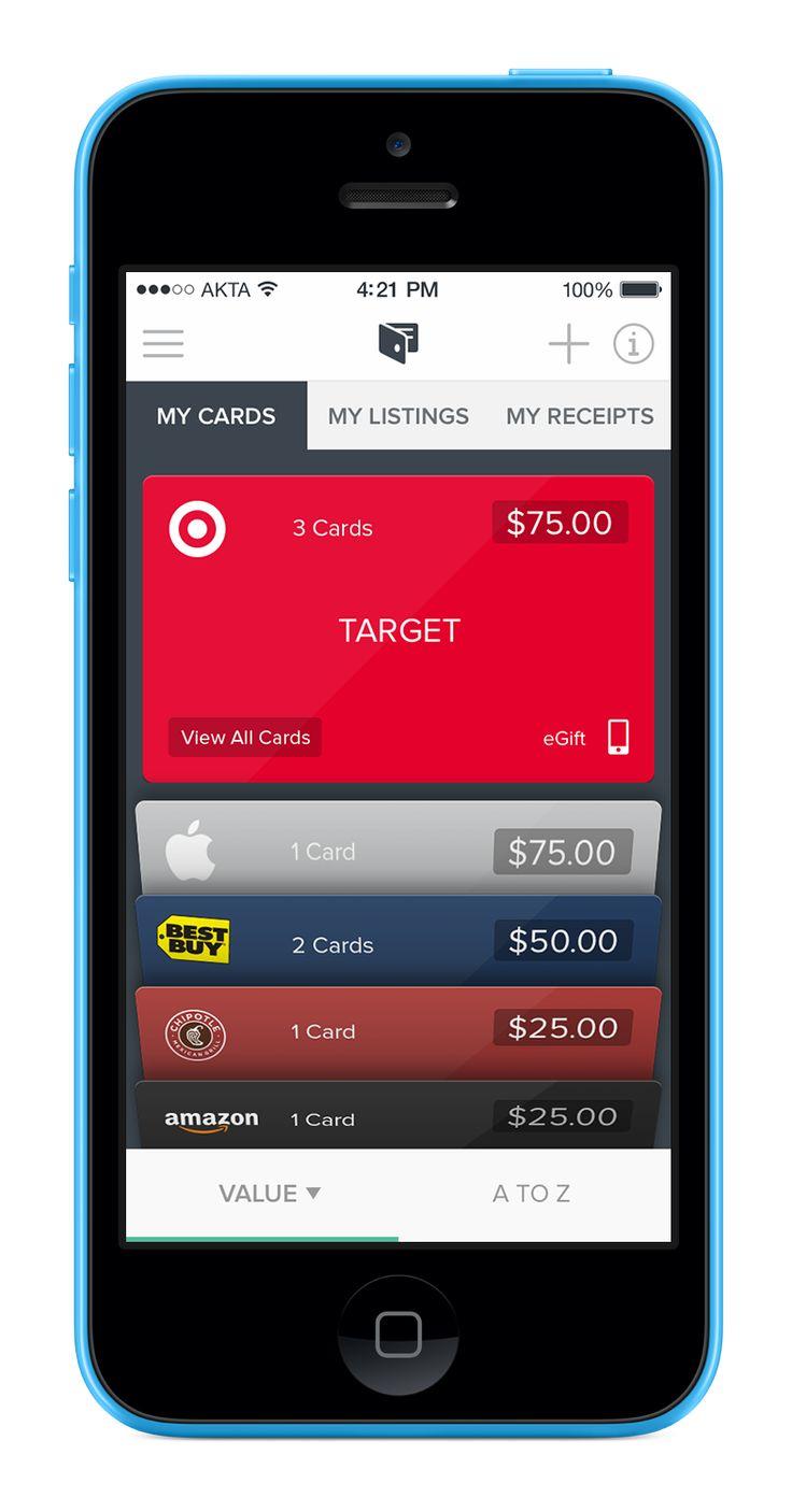 Raise app UI design https://itunes.apple.com/us/app/raise-buy-sell-gift-cards/id922643195?mt=8 https://www.behance.net/gallery/20774803/Raise-App-UI-design