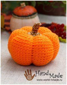 Осенний урожай своими руками: тыква крючком - КлубКом