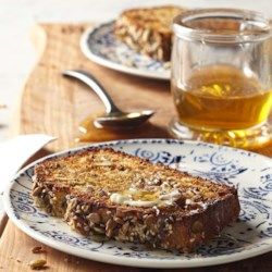 Seeded Whole-Grain Quick Bread  - Best suggestion -  make muffins. EatingWell.com
