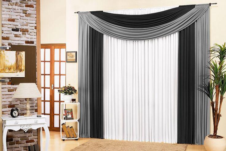 cortinas para sala - Pesquisa Google                                                                                                                                                                                 Más