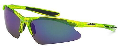 cf2a3d55ef Xloop Men Women Triathlon Cycling Lime Green Sunglasses     See this great  product.