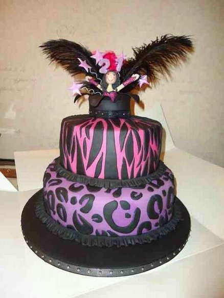 138 best burlesque images on pinterest burlesque wall decor and burlesque 21st birthday cake cake by vandccakes fandeluxe Image collections