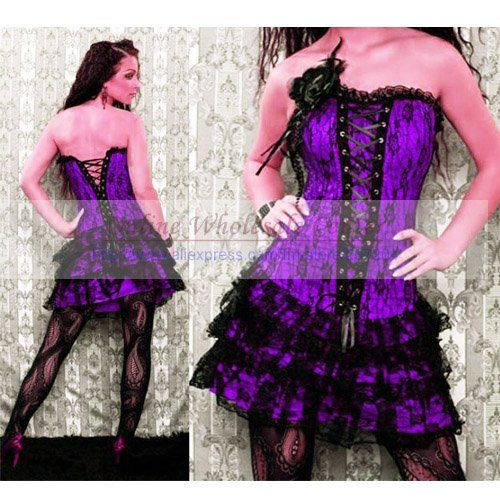 Hot Sale Sweetheart Corset Gothic Purple Wedding Dress: 17 Best Images About My Style On Pinterest