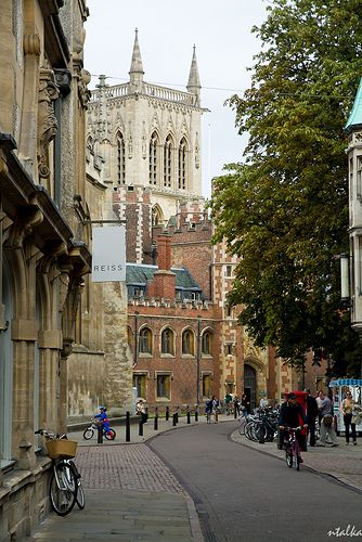 Cambridge, England I'll be here in a couple of weeks! :)