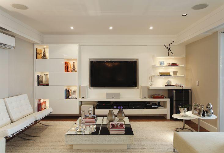 Decoracao De Sala Pequena ~ 15 Modelos de Decoração para Sala de TV Pequena  Search, Home and