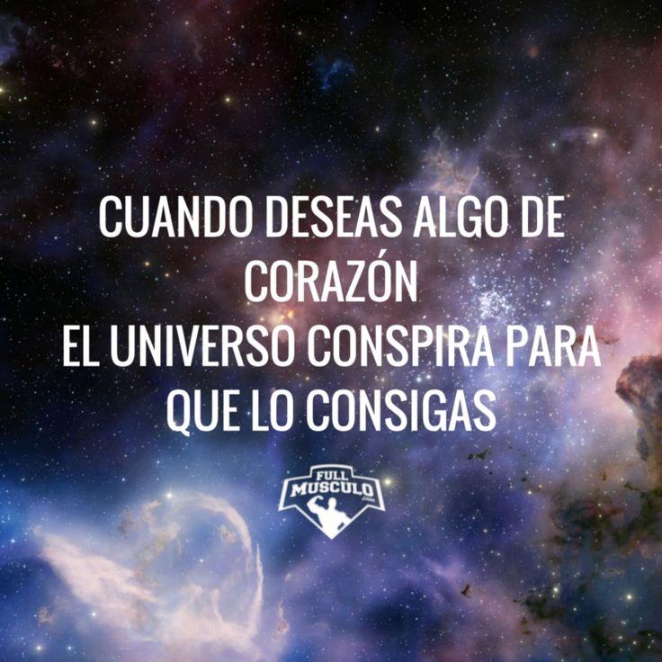 El universo conspira para que consigas eso que tanto deseas