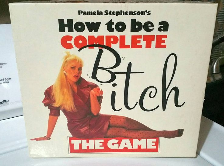 How to be a Complete Bitch board game 1988 by ISOVINTAGETREASURES