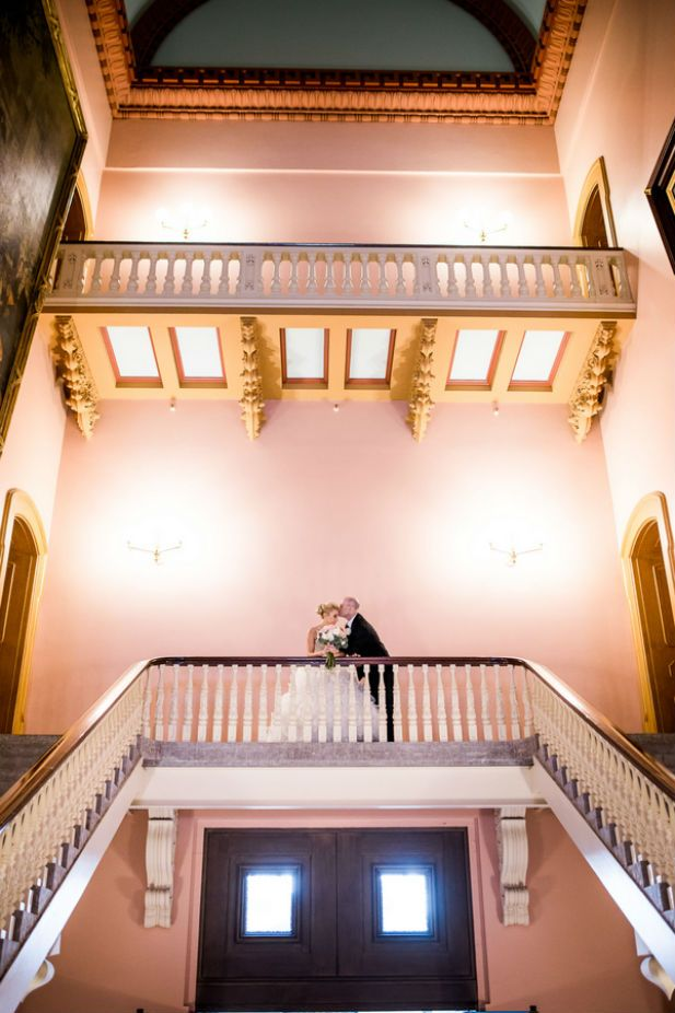 Elegant Wedding at the Renaissance Columbus Downtown Hotel (Photo by Asteria Photography)