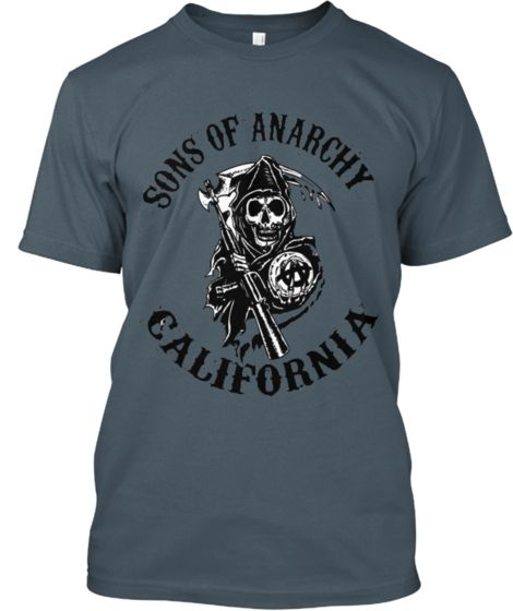 Sons Of Anarchy CALIFORNIA LIMITED ED | Teespring