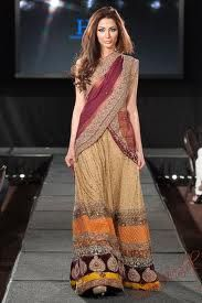 Saadia mirza bridal 2013 collection pakistan fashion.  Fashion world