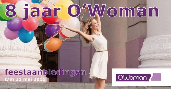Voor o'woman in Maastricht, een sportschool voor vrouwen, heb ik diverse visuals gemaakt. Deze is vanwege het 8 jarig bestaan. Een visual die past bij de vrouw van nu, die past bij o'woman en wat o'woman wil zijn.