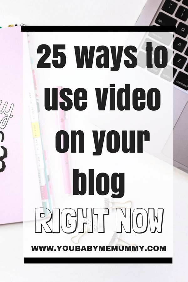 25 ways to use video on your blog right now to make your content richer, to draw your reader in and to make more money!