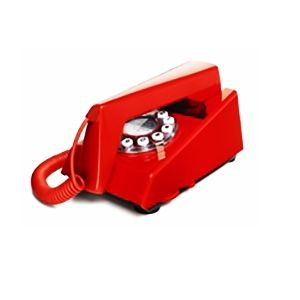 Create a great retro look with this uniquely designed 1960's TRIM phone designed by Martyn Rowlands in the UK.  Reproduced by Wild and Wolf.  Australia Wide Delivery.  Sale price.  Buy online today at Contemporary Pieces.