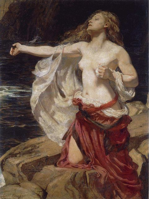 "Herbert James Draper, ""ARIADNE"" by sofi01, via Flickr"