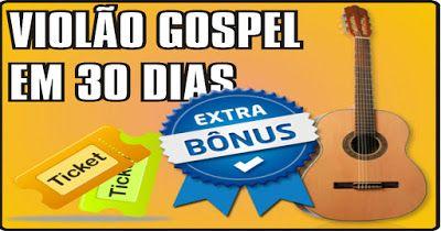 JRF: Curso de Violão Gospel! Este curso é indicado para...