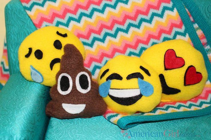 DIY American Girl Emoji Pillows • American Girl Ideas   American ...