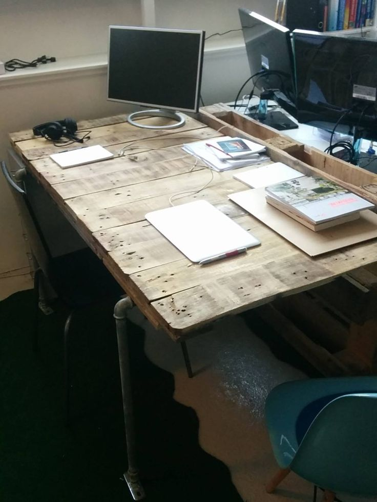 DIY pallet table - cost (1$)