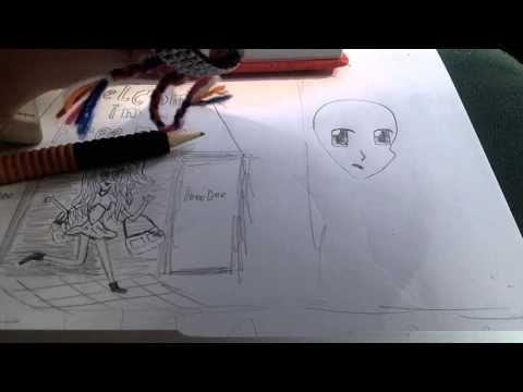 manga meisje leren tekenen step-by-step - YouTube