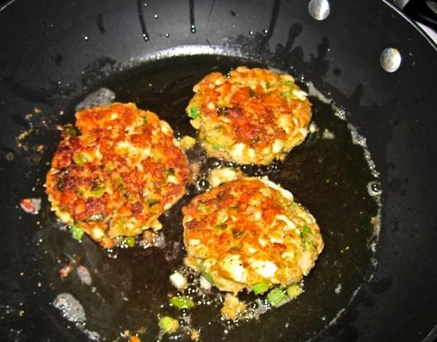 Striped Bass cakes (like crab cakes)