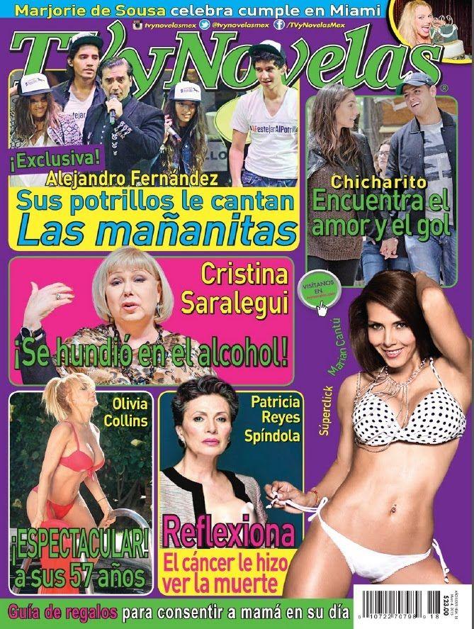 revista tvynovelas mayo 2015 olivia collins que cuerpazo a sus 57 años c...