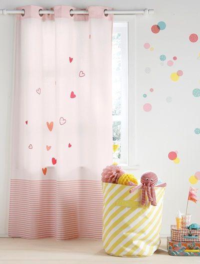 Curtain #bedroom #kidsroom #curtains #underthesea #vertbaudetUK
