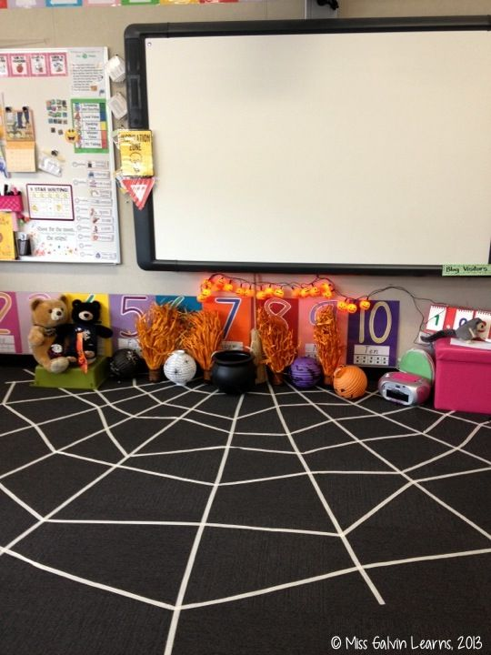 Classroom Halloween decorations from 2013! (Miss Galvin Learns)